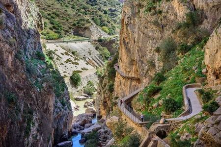 caminito del rey wandeltocht hiking andalusiereizen