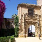 oude ingang Koninklijk Paleis Sevilla